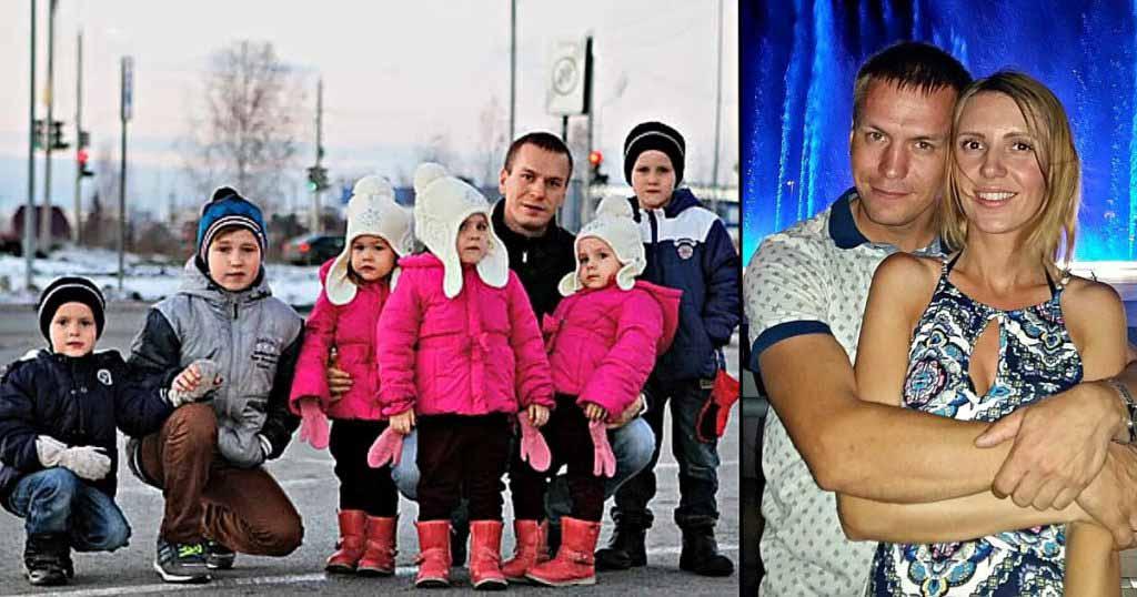 Отец, воспитывающий 6 детей, нашел свою любовь, как живет женщина