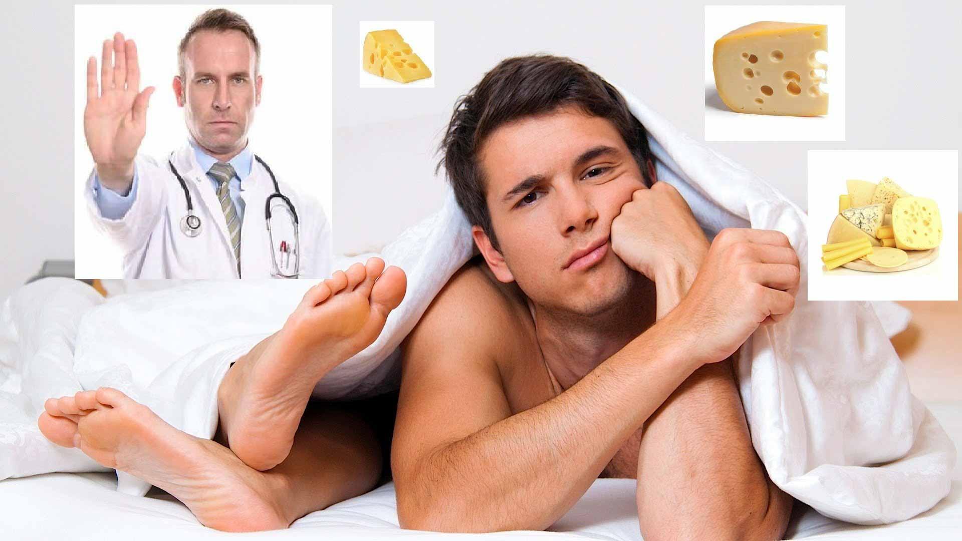 Найден «убийца» мужской потенции. Врачи признали сыр самым опасным продуктом перед сексом