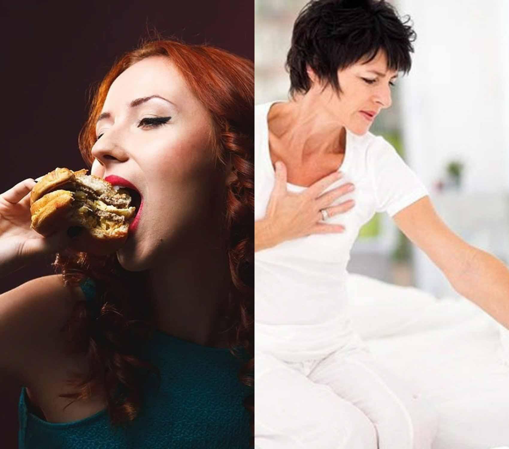 Быстрое питание увеличивает риск сердечного приступа