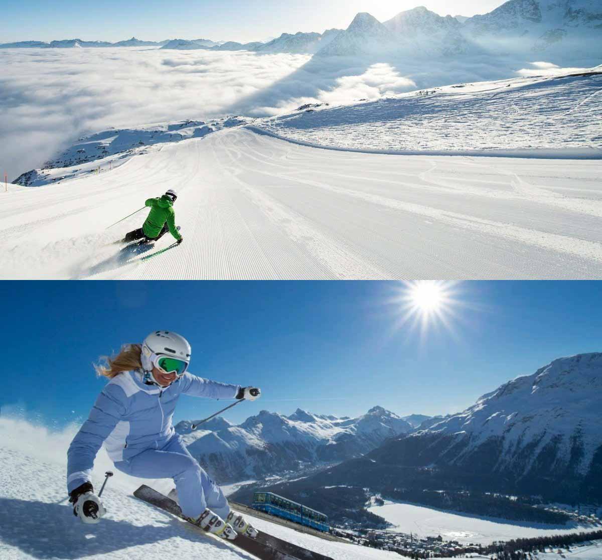 Почему горнолыжный курорт Санкт-Мориц в Швейцарии называют лучшим в мире