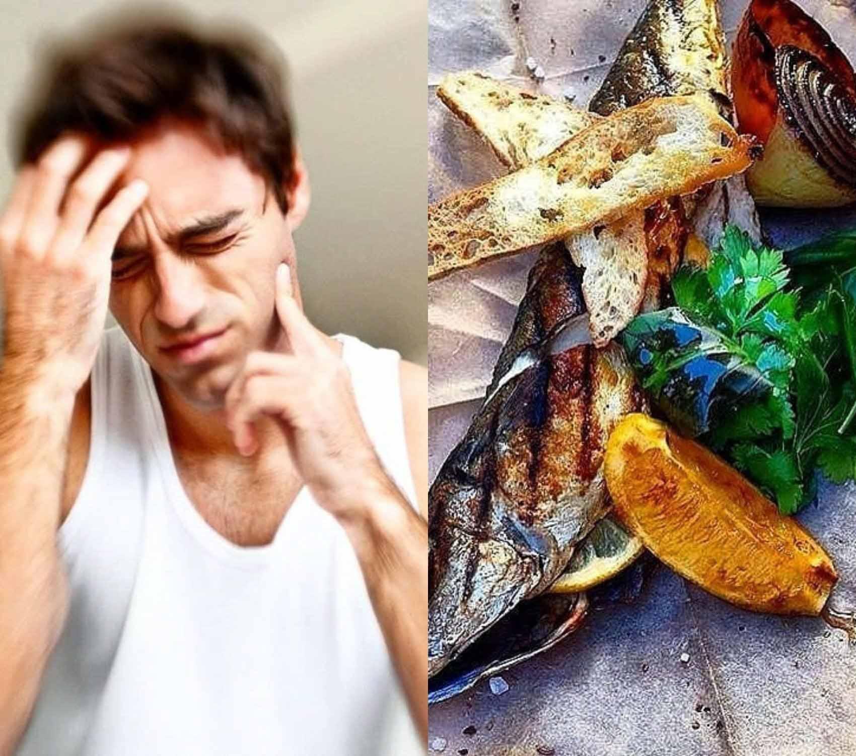 Продукты, богатые витамином D, снимают мигрень