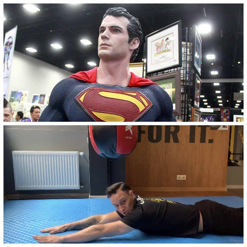 Самое простое упражнение Супермена защитит вашу спину от всех неприятностей
