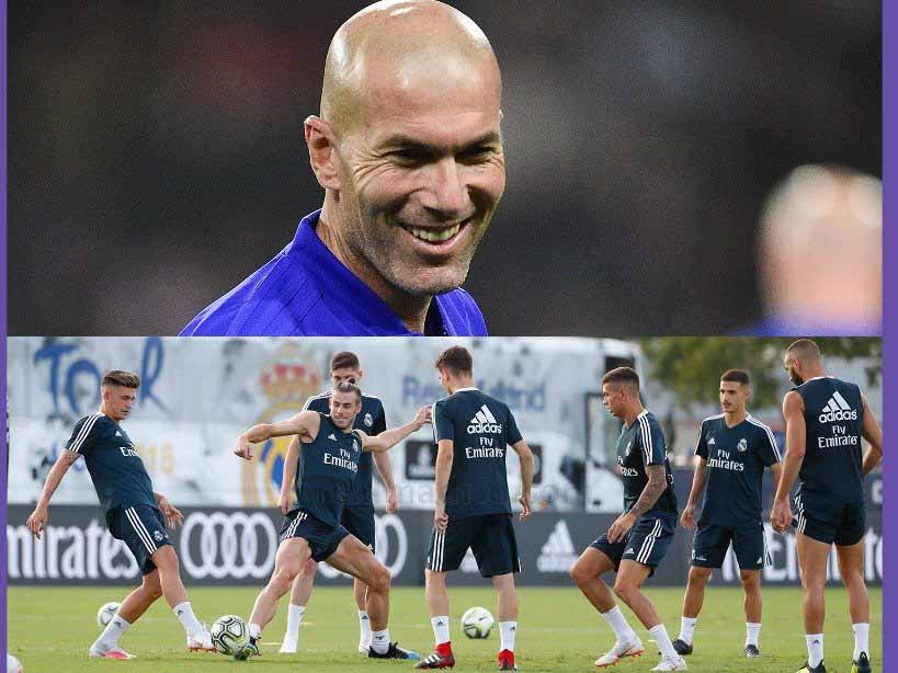 Изнурительные тренировки Зидана будут мешать Реалу в матче с Валенсией