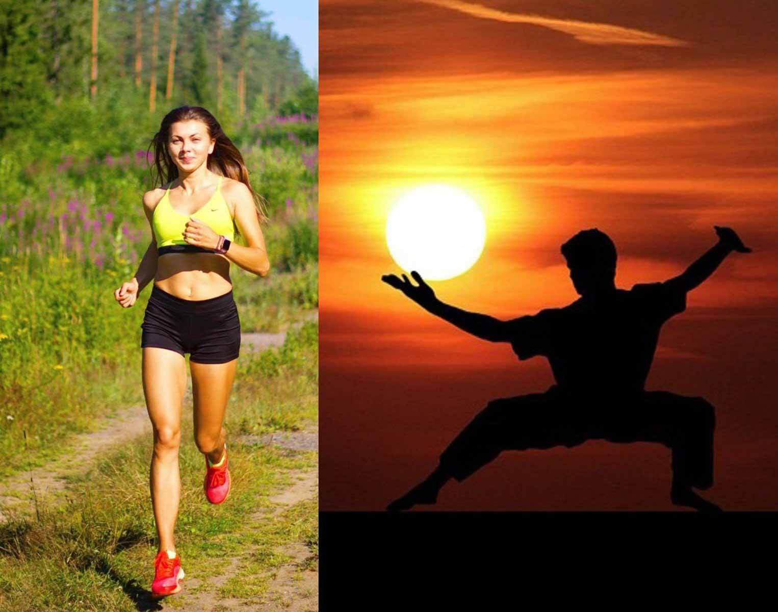 Утренняя зарядка наиболее полезна для похудения.
