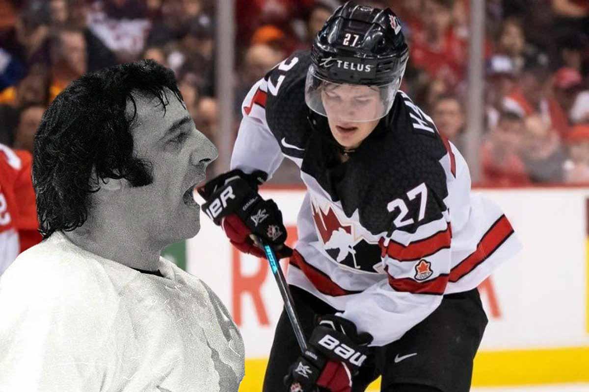 Канадцы «четают» Хейтона и всю команду за слиток золота в России