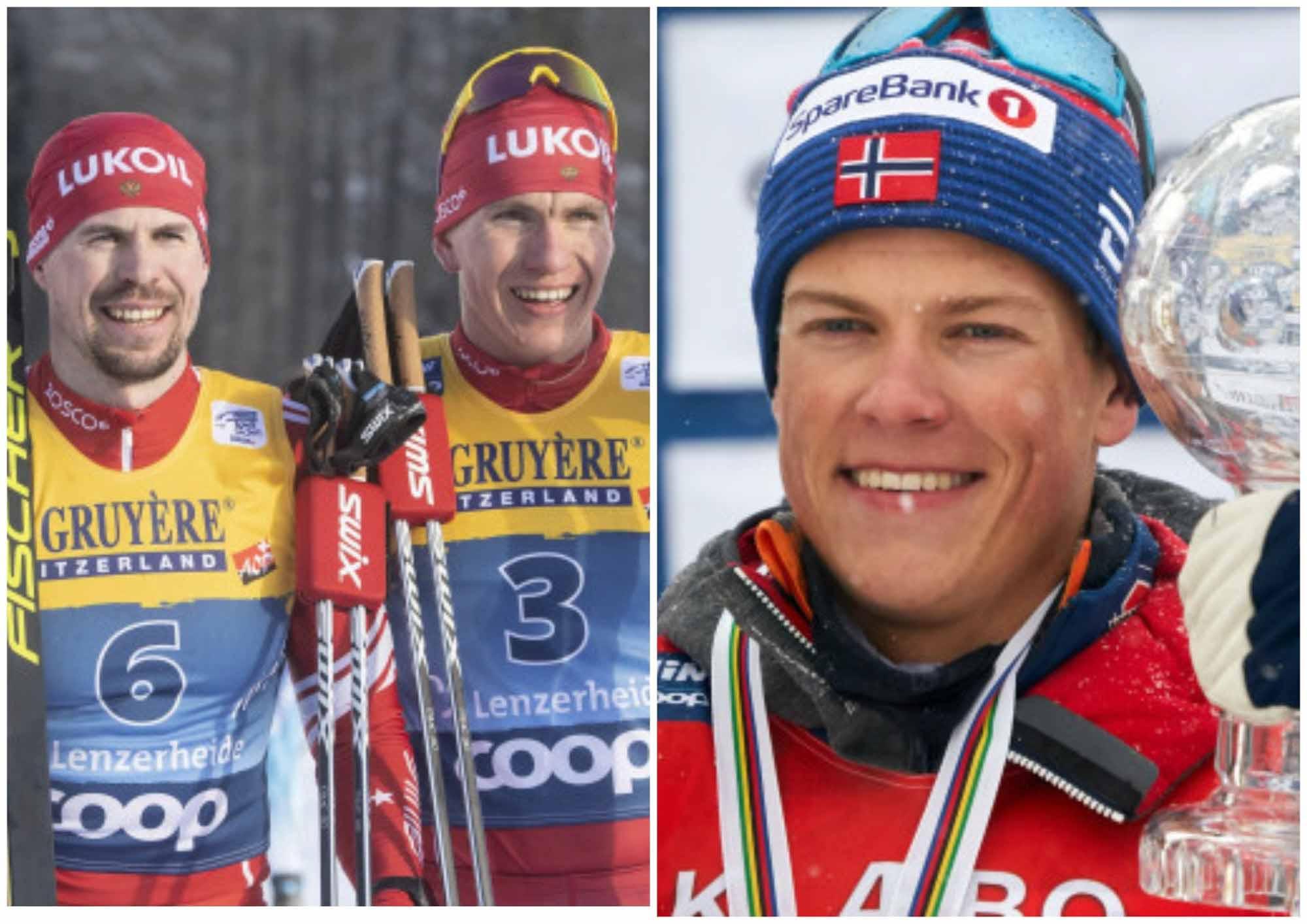 Российские лыжники лидируют перед последним этапом Тур де Ски