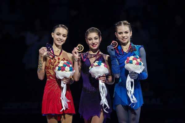 Александра дружит с Косторной и Щербаковой