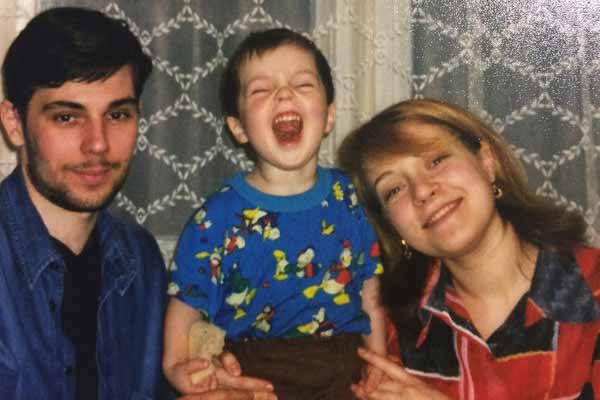 Егор Клинаев вырос в семье музыкантов