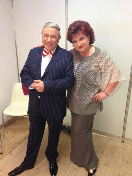 Евгений Петросян и Елена Степаненко считались сильной парой