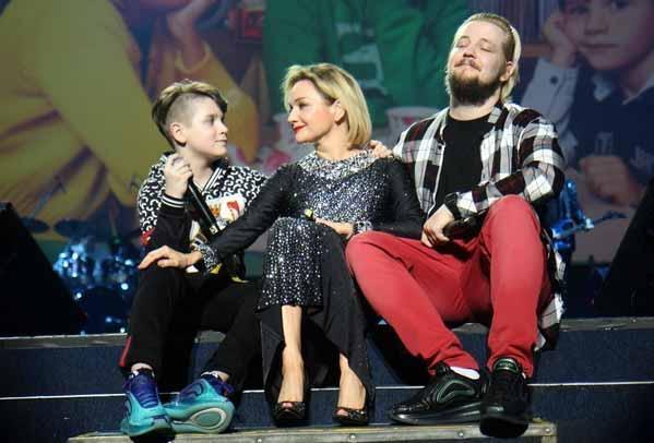Татьяна любит сыновей
