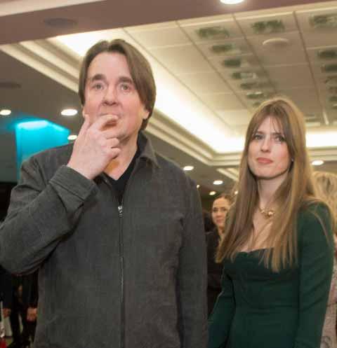 Константин Эрнст с женой Софией