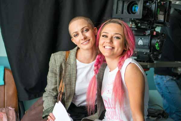 Полина Максимова и Дарья Руденок