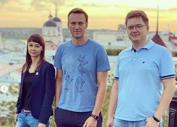 Буквально вчера Навальный был в Томске.