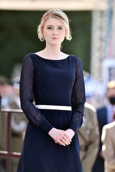 Дочь президента Польши короля
