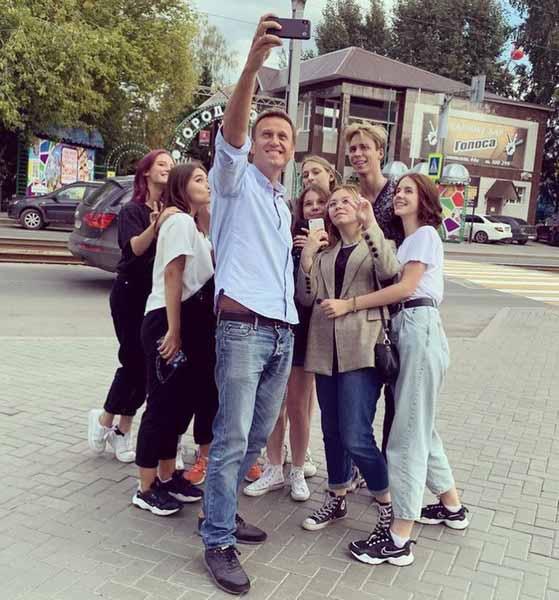 Накануне трагедии Навальный чувствовал себя хорошо
