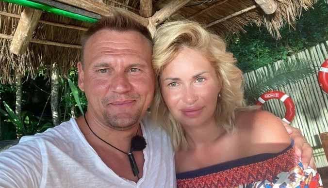 Степан Меньщиков и Ангелина Монк стали родителями