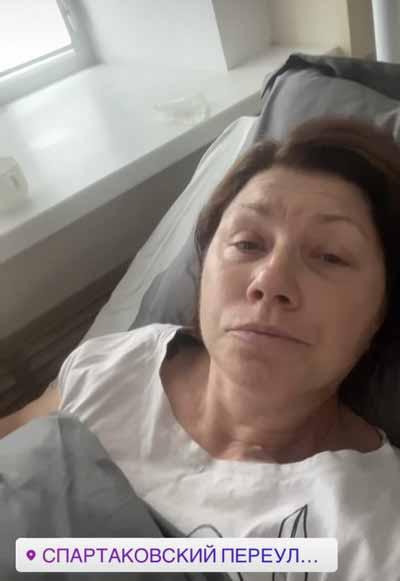 Роза Сябитова в больнице