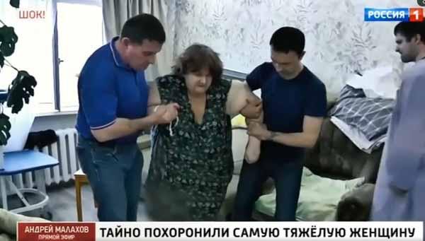 Нурдинова попыталась самостоятельно начать ходить