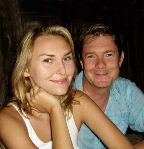 Ольга Фриман с мужем
