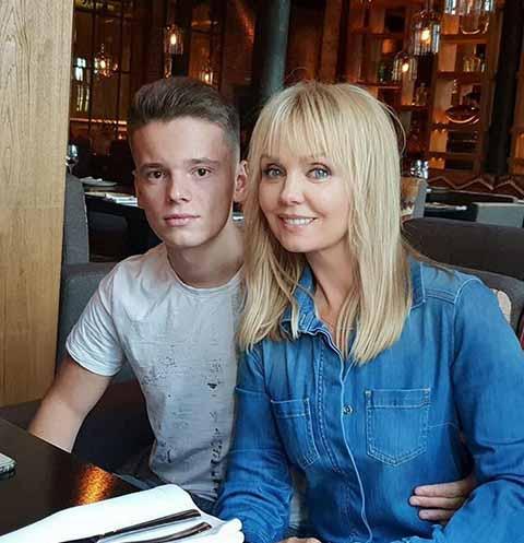 Валерия с сыном Арсением Шульгиным