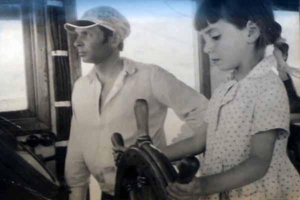 Родители с малых лет брали Наталью с собой на яхту