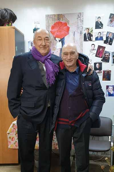 Борис Клюев с Михаилом Шабровым