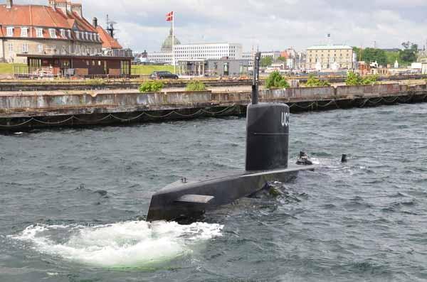 Подводная лодка затонула
