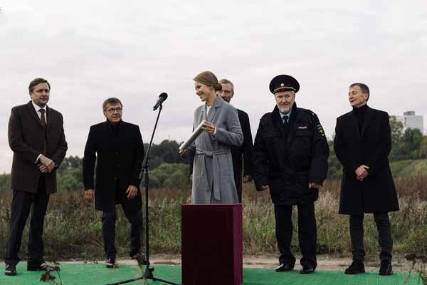 Ксения Собчак сыграла одну из главных ролей в сериале.