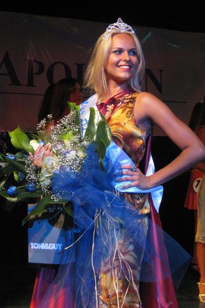 Анна приняла участие в 13 конкурсах красоты