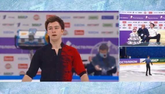Дмитрий Алиев поднялся с девятого места на третье