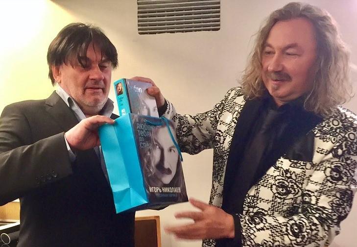 Николаев публично поздравил друга с днем рождения