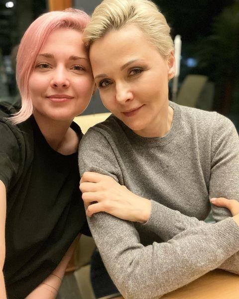 Дарья с дочерью Полиной