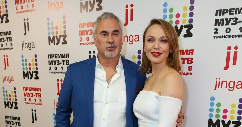 Валерий Меладзе и Альбина Джанабаева впервые о рождении дочери