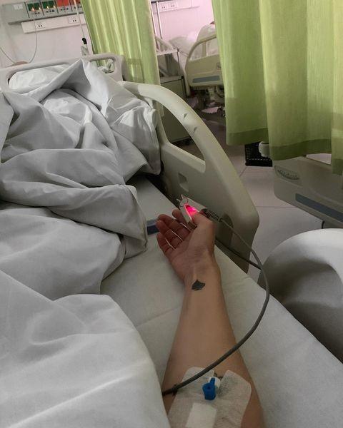 Водонаева очень переживает по поводу госпитализации
