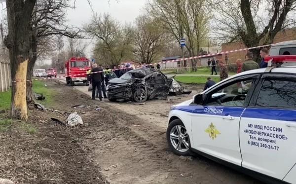 ДТП произошло в Новочеркасске