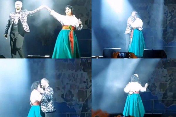Отрывки из видеоспектакля Бабкина и Гора.  Коллаж: vladtime.ru
