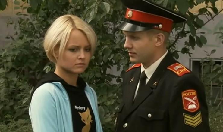 Ольга попала в сериал