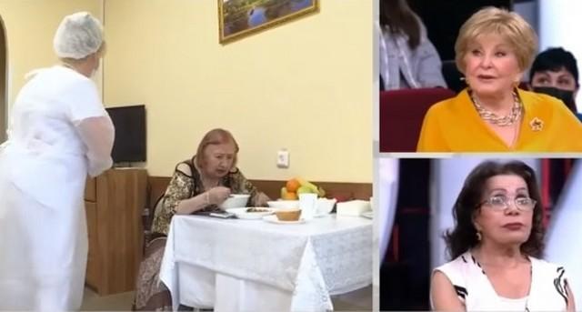 Сетара Казымова в доме престарелых предлагает на обед три блюда на выбор
