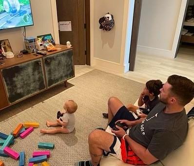 Тимберлейк все свободное время проводит с ребятами