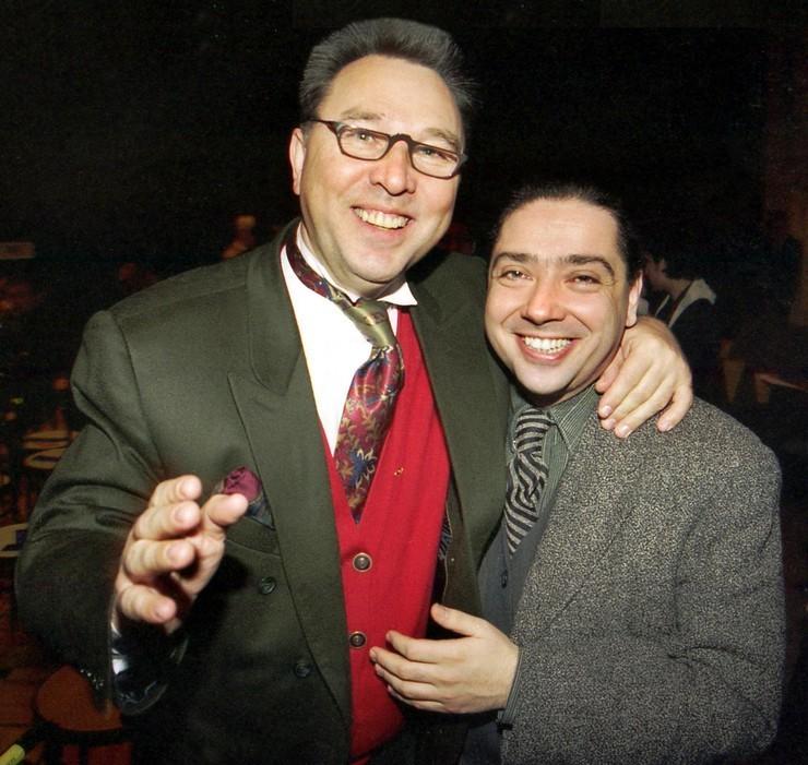 Валентин Юдашкин много лет дружит с коллегой.