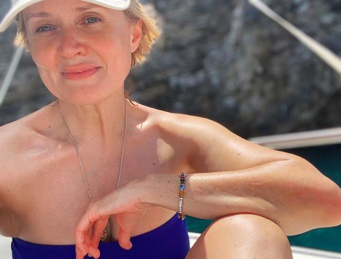 Анна в отпуске