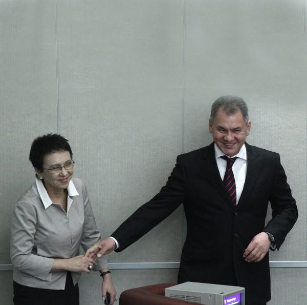 Лариса и Сергей Шойгу