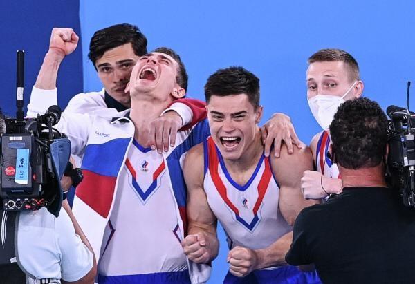 Спортсмены очень эмоционально отреагировали на свою победу