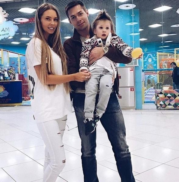 Стас Пьеха с бывшей женой Натальей и сыном Петей