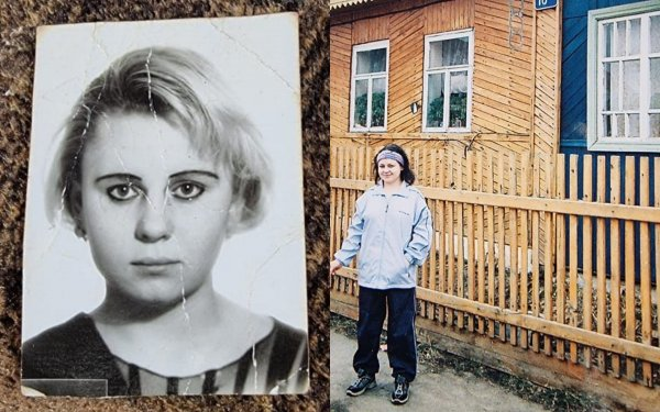Ирина Костылева в молодости и без макияжа