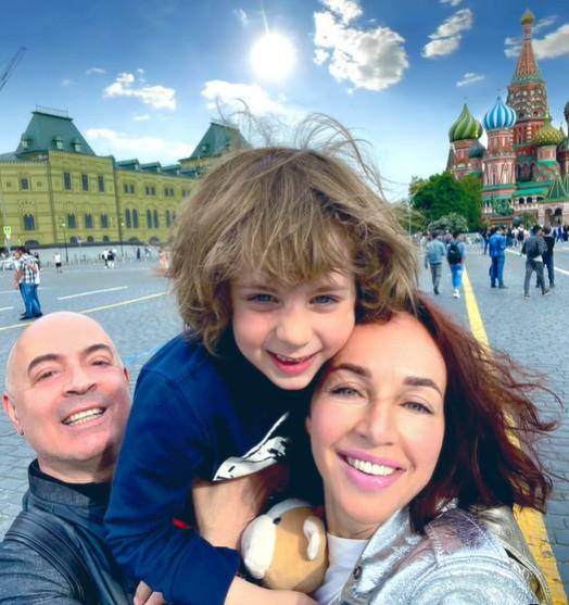 Грушевский и Евгения поженились шесть лет назад, у пары есть сын Михаил.