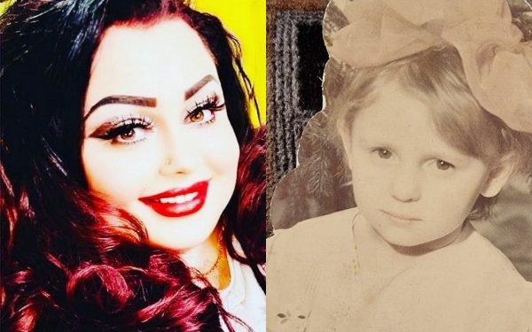 Ирина Костылева сейчас и в детстве