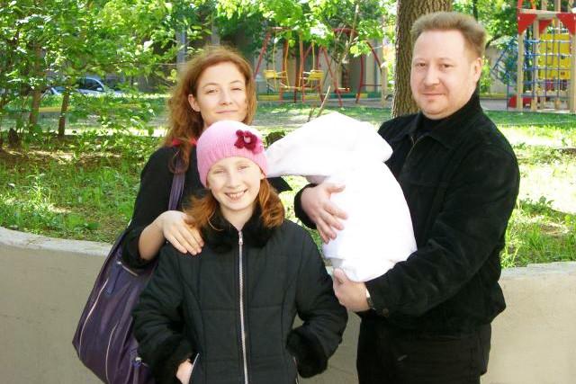 У Андрея было три дочери